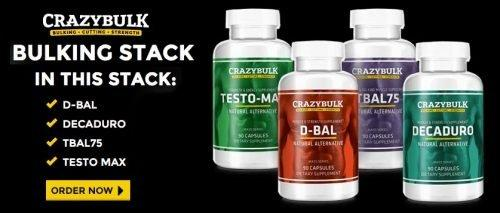 crazy bulk bulking stack - best choice