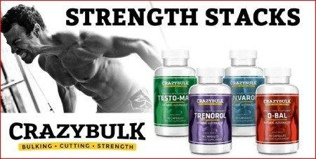 crazybulk strength stack