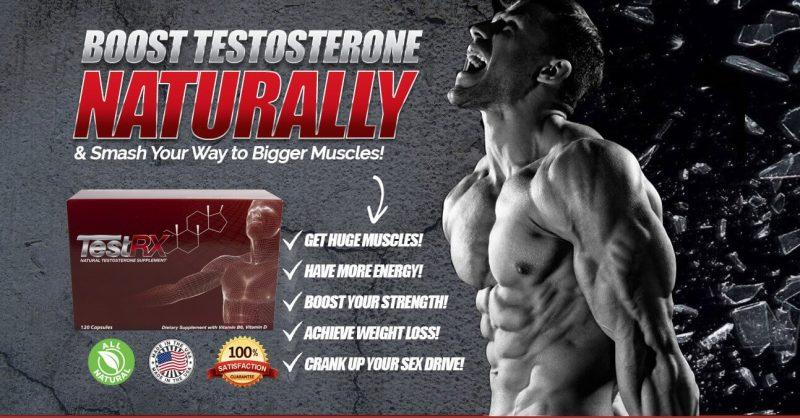 testrx - best for sex drive, muscle and strength