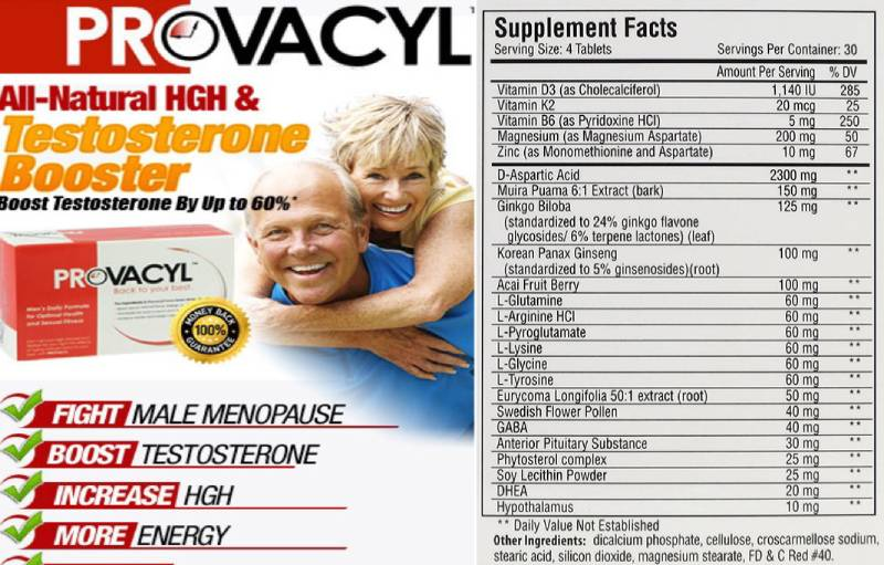Provacyl Reviews : Ingredients and their benefits, How to use and ...