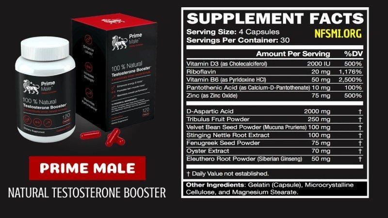 Prime Male Reviews : Ingredients, How It Works, Benefits And