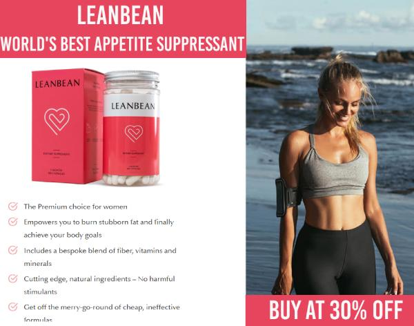 leanbean - best appetite suppressant (1)