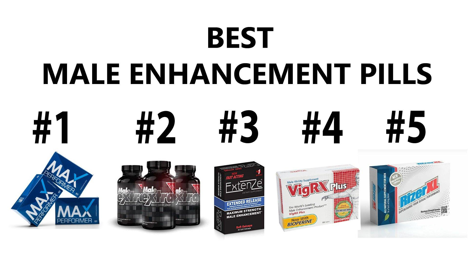 5 Best Male Enhancement pills That Work