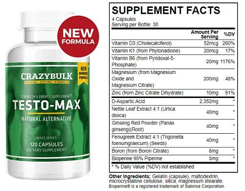 Testo-Max Review [2020] : A Natural Test Booster To Gain Strength ...